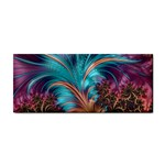 Feather Fractal Artistic Design Cosmetic Storage Cases Front