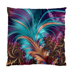 Feather Fractal Artistic Design Standard Cushion Case (One Side)