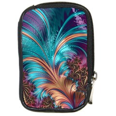 Feather Fractal Artistic Design Compact Camera Cases