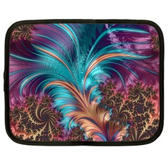 Feather Fractal Artistic Design Netbook Case (xl)