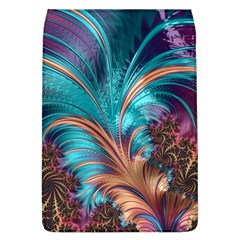 Feather Fractal Artistic Design Flap Covers (l)