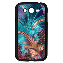 Feather Fractal Artistic Design Samsung Galaxy Grand DUOS I9082 Case (Black)