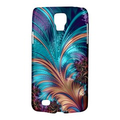 Feather Fractal Artistic Design Galaxy S4 Active