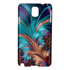 Feather Fractal Artistic Design Samsung Galaxy Note 3 N9005 Hardshell Case