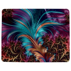 Feather Fractal Artistic Design Jigsaw Puzzle Photo Stand (Rectangular)