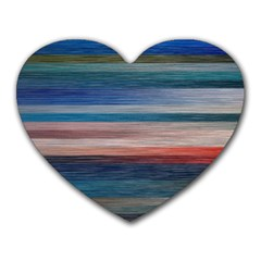 Background Horizontal Lines Heart Mousepads