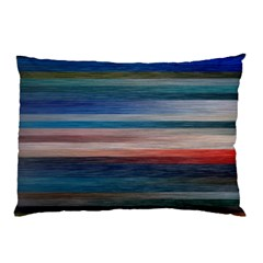 Background Horizontal Lines Pillow Case