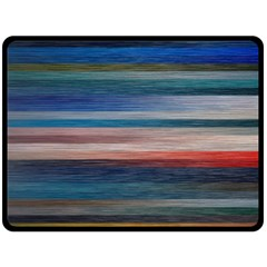 Background Horizontal Lines Fleece Blanket (Large)