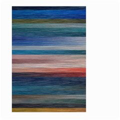 Background Horizontal Lines Large Garden Flag (Two Sides)