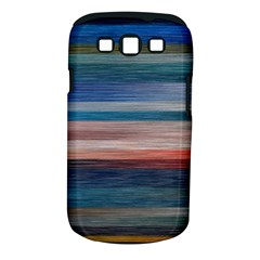 Background Horizontal Lines Samsung Galaxy S III Classic Hardshell Case (PC+Silicone)