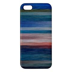 Background Horizontal Lines Iphone 5s/ Se Premium Hardshell Case