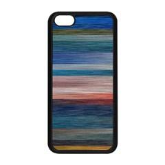 Background Horizontal Lines Apple Iphone 5c Seamless Case (black)