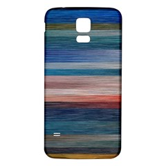 Background Horizontal Lines Samsung Galaxy S5 Back Case (white)