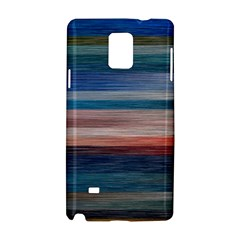 Background Horizontal Lines Samsung Galaxy Note 4 Hardshell Case