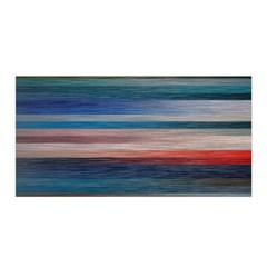 Background Horizontal Lines Satin Wrap