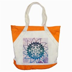 Mandalas Symmetry Meditation Round Accent Tote Bag