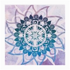 Mandalas Symmetry Meditation Round Medium Glasses Cloth