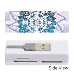 Mandalas Symmetry Meditation Round Memory Card Reader (Stick)