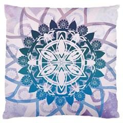Mandalas Symmetry Meditation Round Large Cushion Case (two Sides)