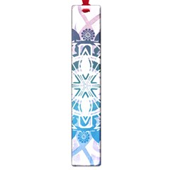 Mandalas Symmetry Meditation Round Large Book Marks