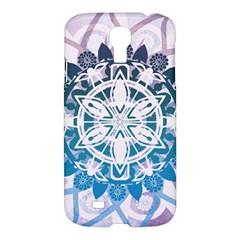 Mandalas Symmetry Meditation Round Samsung Galaxy S4 I9500/i9505 Hardshell Case