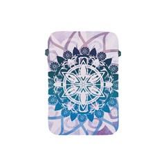 Mandalas Symmetry Meditation Round Apple iPad Mini Protective Soft Cases