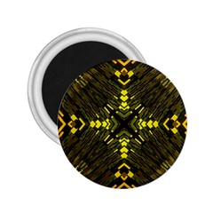 Abstract Glow Kaleidoscopic Light 2.25  Magnets