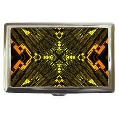 Abstract Glow Kaleidoscopic Light Cigarette Money Cases