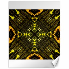 Abstract Glow Kaleidoscopic Light Canvas 12  X 16