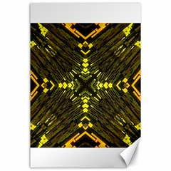 Abstract Glow Kaleidoscopic Light Canvas 24  X 36