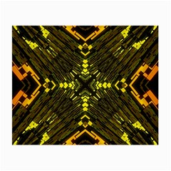 Abstract Glow Kaleidoscopic Light Small Glasses Cloth (2-Side)