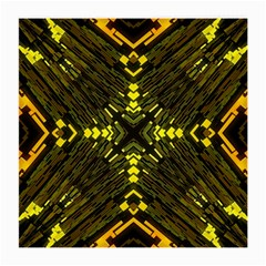 Abstract Glow Kaleidoscopic Light Medium Glasses Cloth (2-Side)