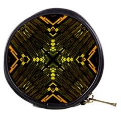 Abstract Glow Kaleidoscopic Light Mini Makeup Bags