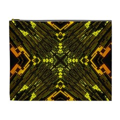 Abstract Glow Kaleidoscopic Light Cosmetic Bag (xl)