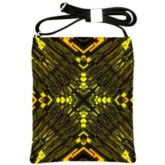 Abstract Glow Kaleidoscopic Light Shoulder Sling Bags