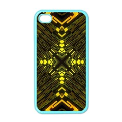 Abstract Glow Kaleidoscopic Light Apple iPhone 4 Case (Color)