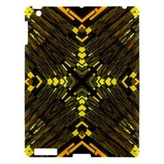 Abstract Glow Kaleidoscopic Light Apple iPad 3/4 Hardshell Case