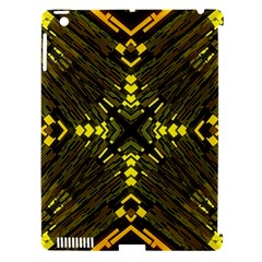 Abstract Glow Kaleidoscopic Light Apple Ipad 3/4 Hardshell Case (compatible With Smart Cover)