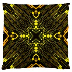 Abstract Glow Kaleidoscopic Light Large Cushion Case (One Side)