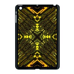 Abstract Glow Kaleidoscopic Light Apple Ipad Mini Case (black)