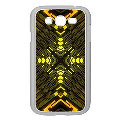Abstract Glow Kaleidoscopic Light Samsung Galaxy Grand DUOS I9082 Case (White)