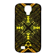 Abstract Glow Kaleidoscopic Light Samsung Galaxy S4 Classic Hardshell Case (pc+silicone)