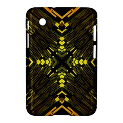 Abstract Glow Kaleidoscopic Light Samsung Galaxy Tab 2 (7 ) P3100 Hardshell Case