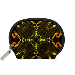 Abstract Glow Kaleidoscopic Light Accessory Pouches (Small)