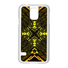 Abstract Glow Kaleidoscopic Light Samsung Galaxy S5 Case (white)