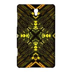 Abstract Glow Kaleidoscopic Light Samsung Galaxy Tab S (8 4 ) Hardshell Case
