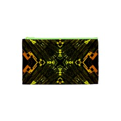 Abstract Glow Kaleidoscopic Light Cosmetic Bag (XS)
