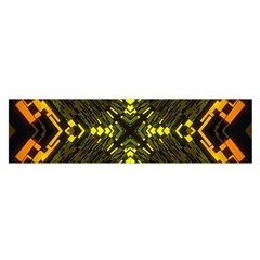 Abstract Glow Kaleidoscopic Light Satin Scarf (Oblong)