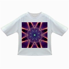 Abstract Glow Kaleidoscopic Light Infant/Toddler T-Shirts