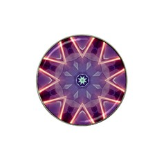 Abstract Glow Kaleidoscopic Light Hat Clip Ball Marker (10 pack)